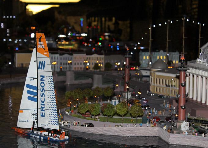 макет города санкт петербург