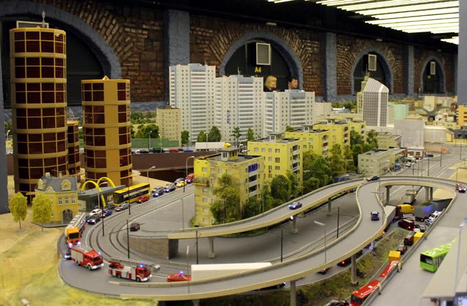 макет магистрали