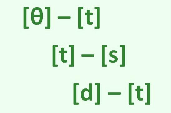 фонетические соответствия между английским и немецким