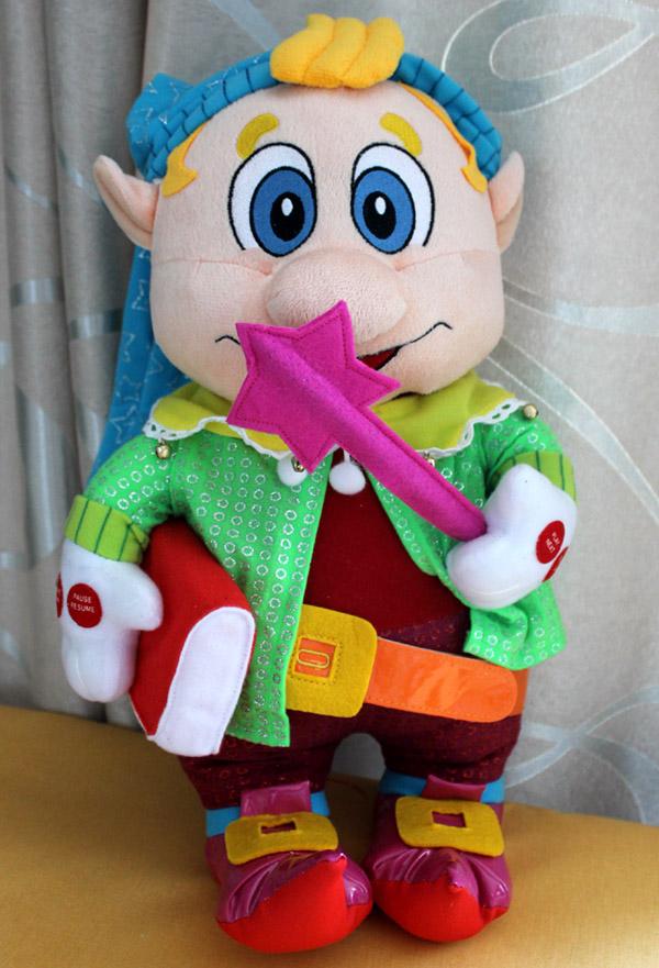 игрушка гном Лёвушка