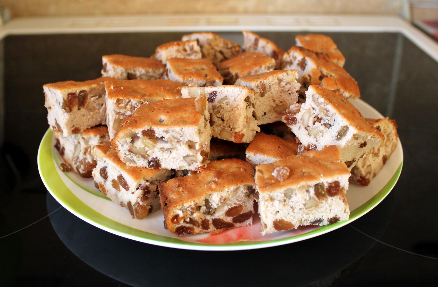 печенье мазурка с грецкими орехами