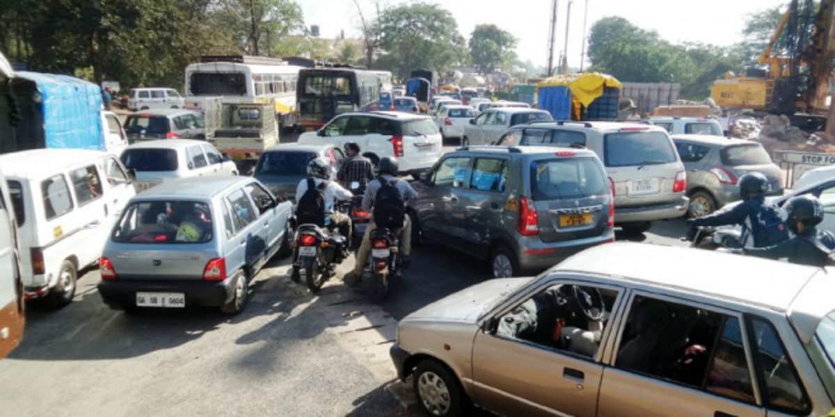 трафик в Индии