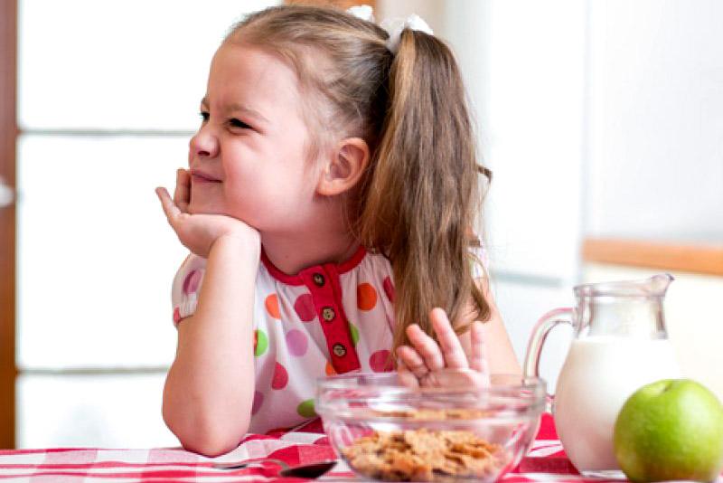 ребёнок отказывается есть