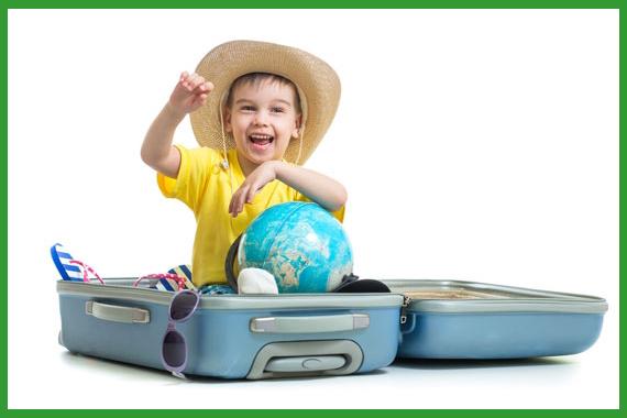 мальчик в чемодане