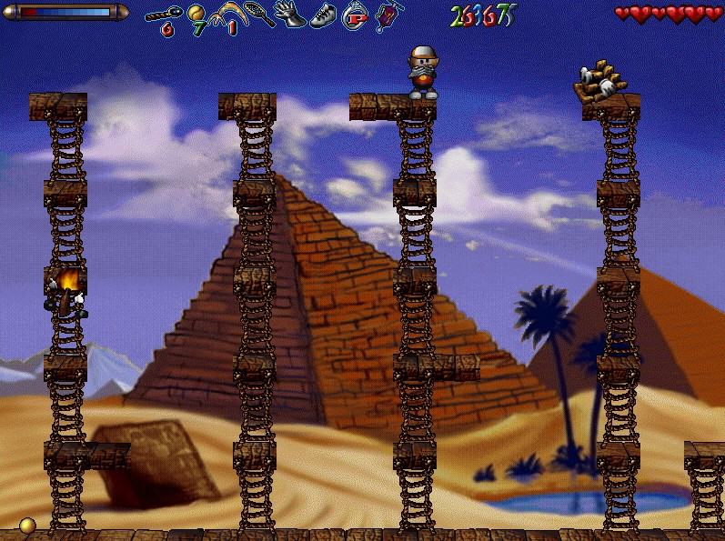 пирамида факел мальчик