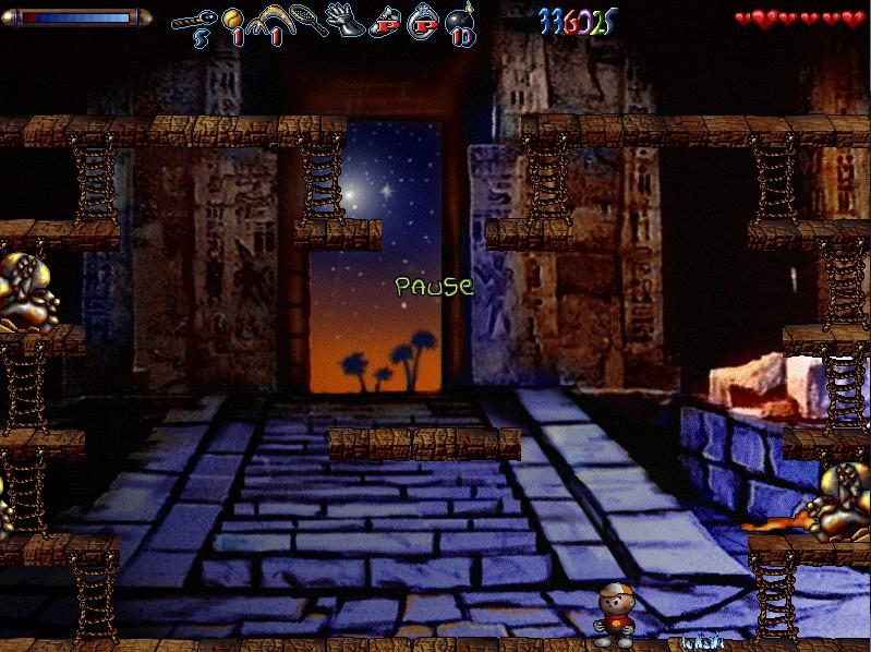 последний уровень в египте игра