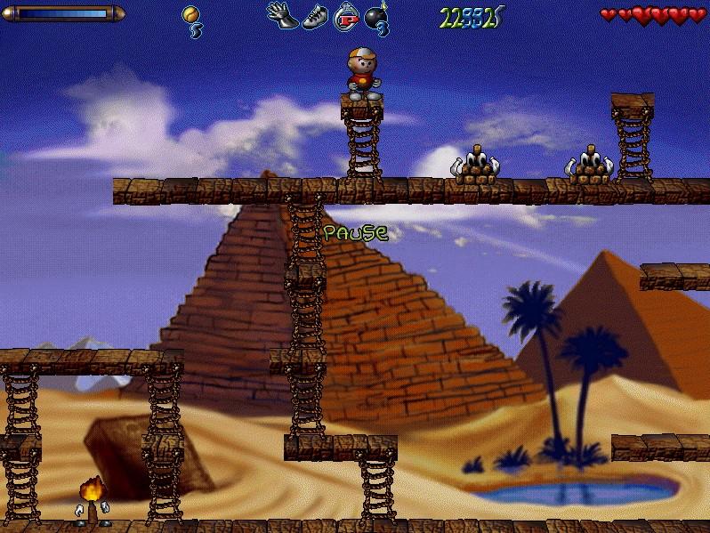 уровень египет игра