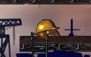 строительная каска монстр