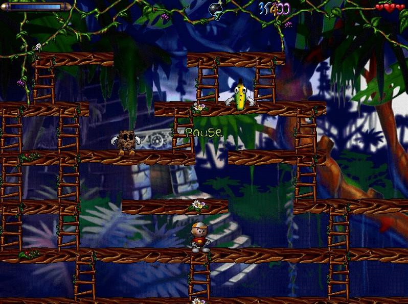 монстры в джунглях