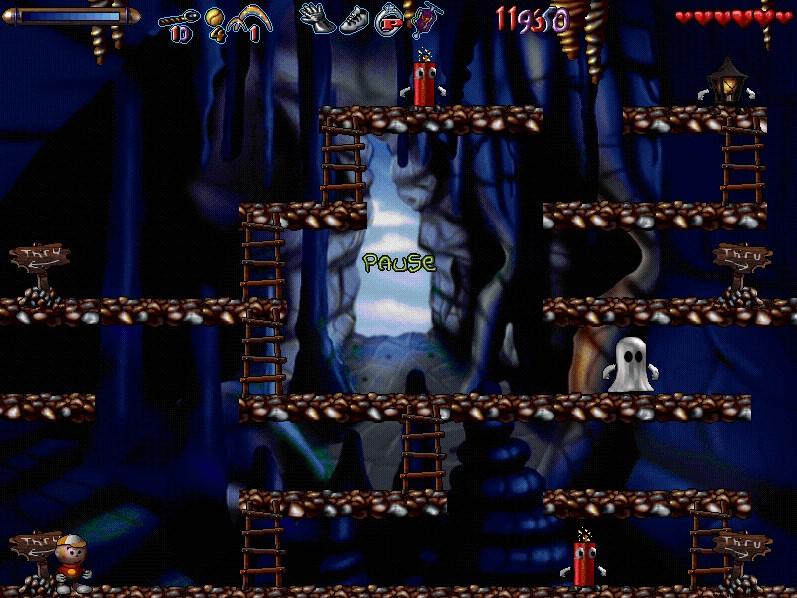 монстры в пещере