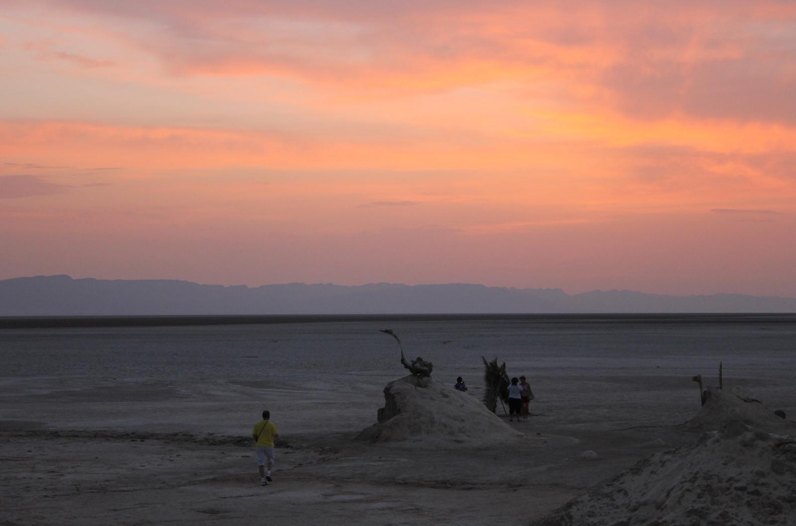 небо в Сахаре