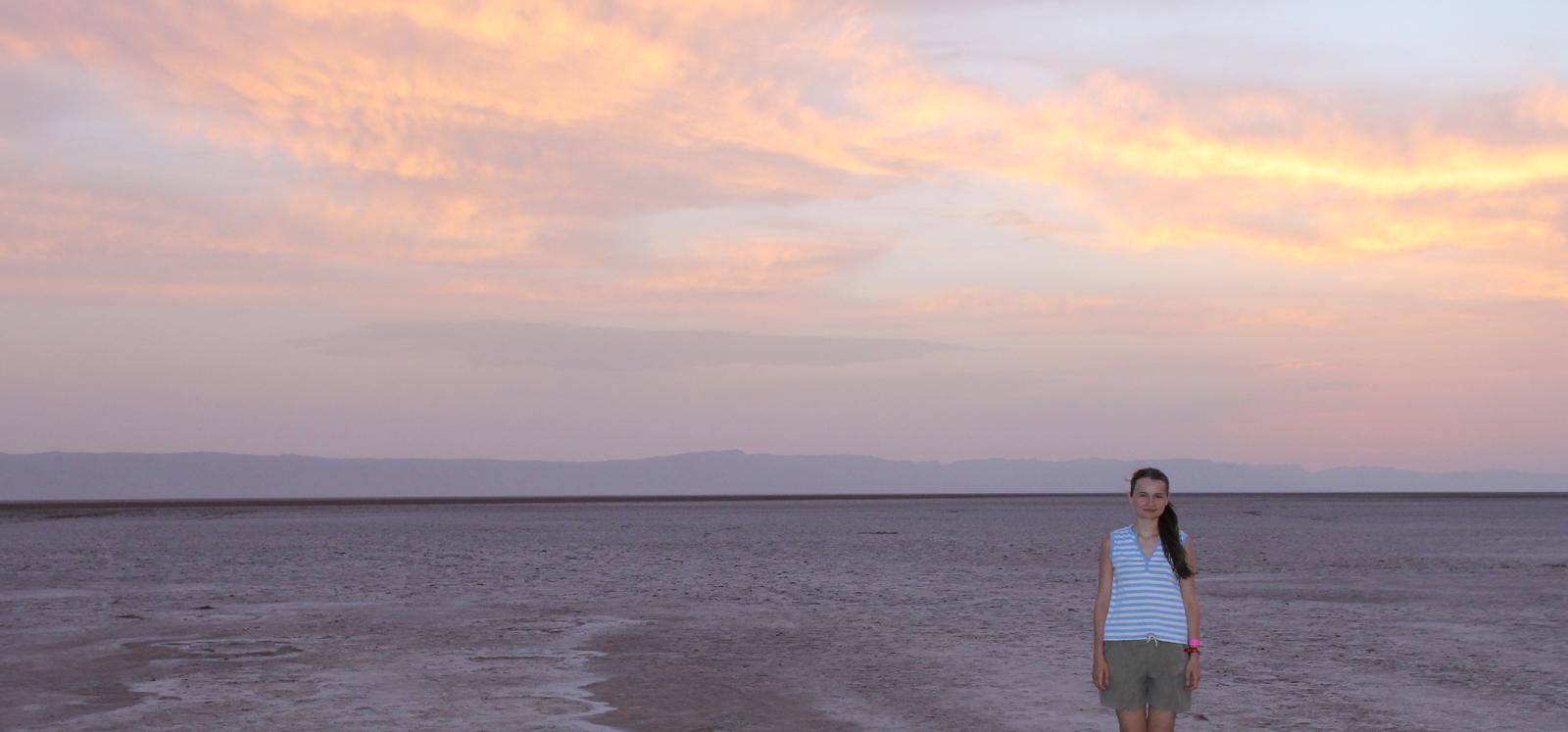 небо и пустыня