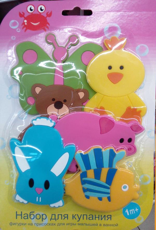 игрушки на присосках