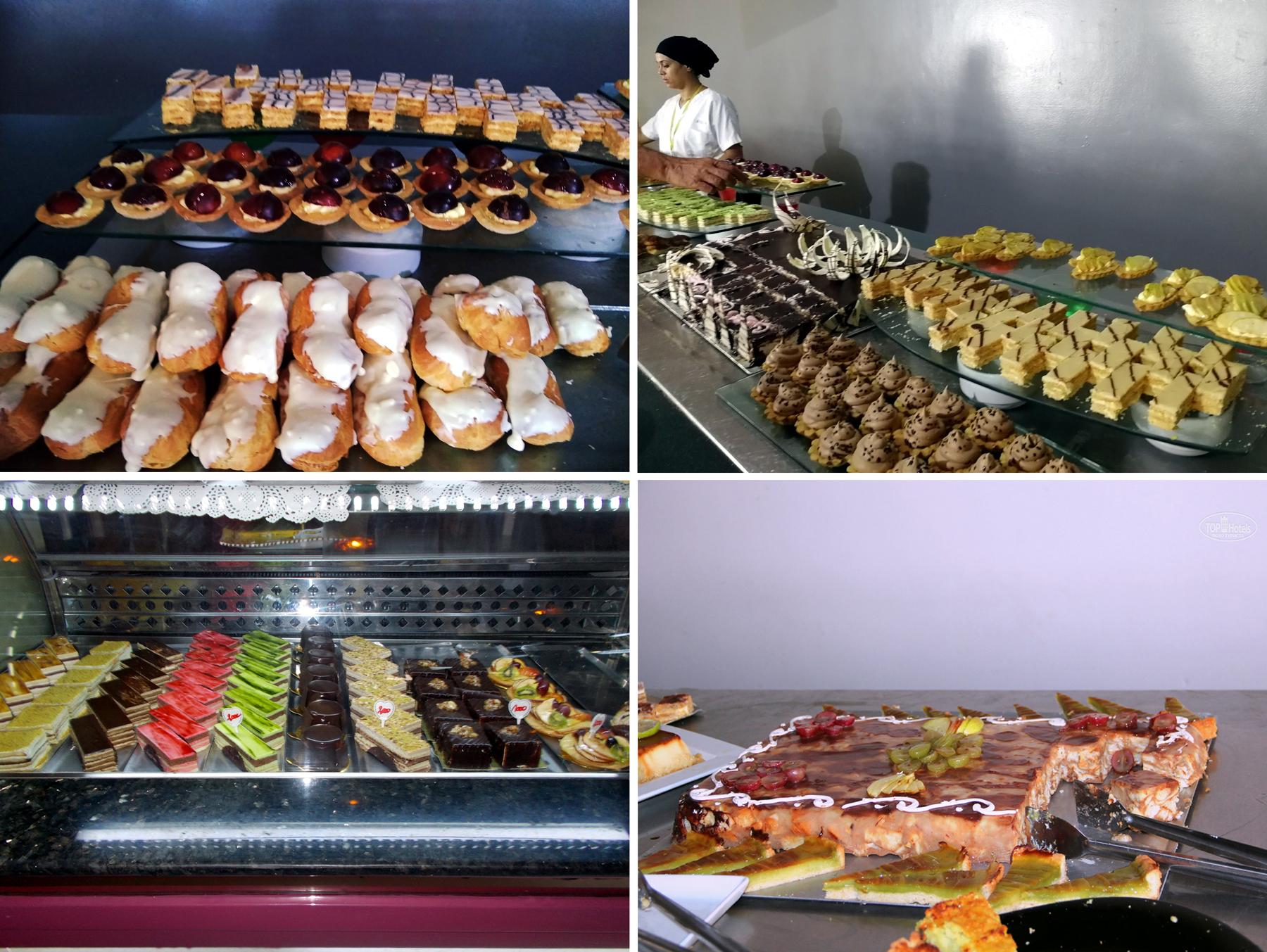 десерты в отеле