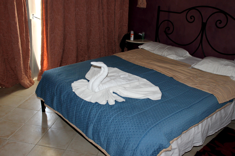 лебедь из полотенца