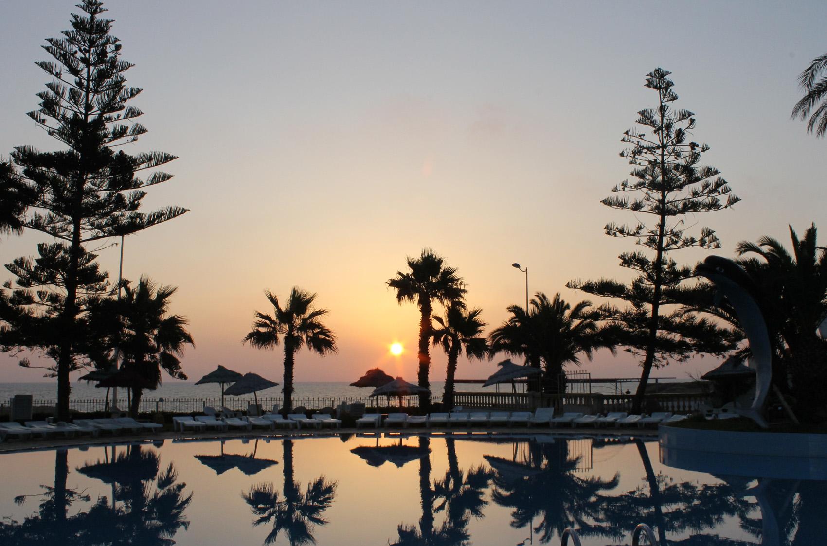 тунис рассвет