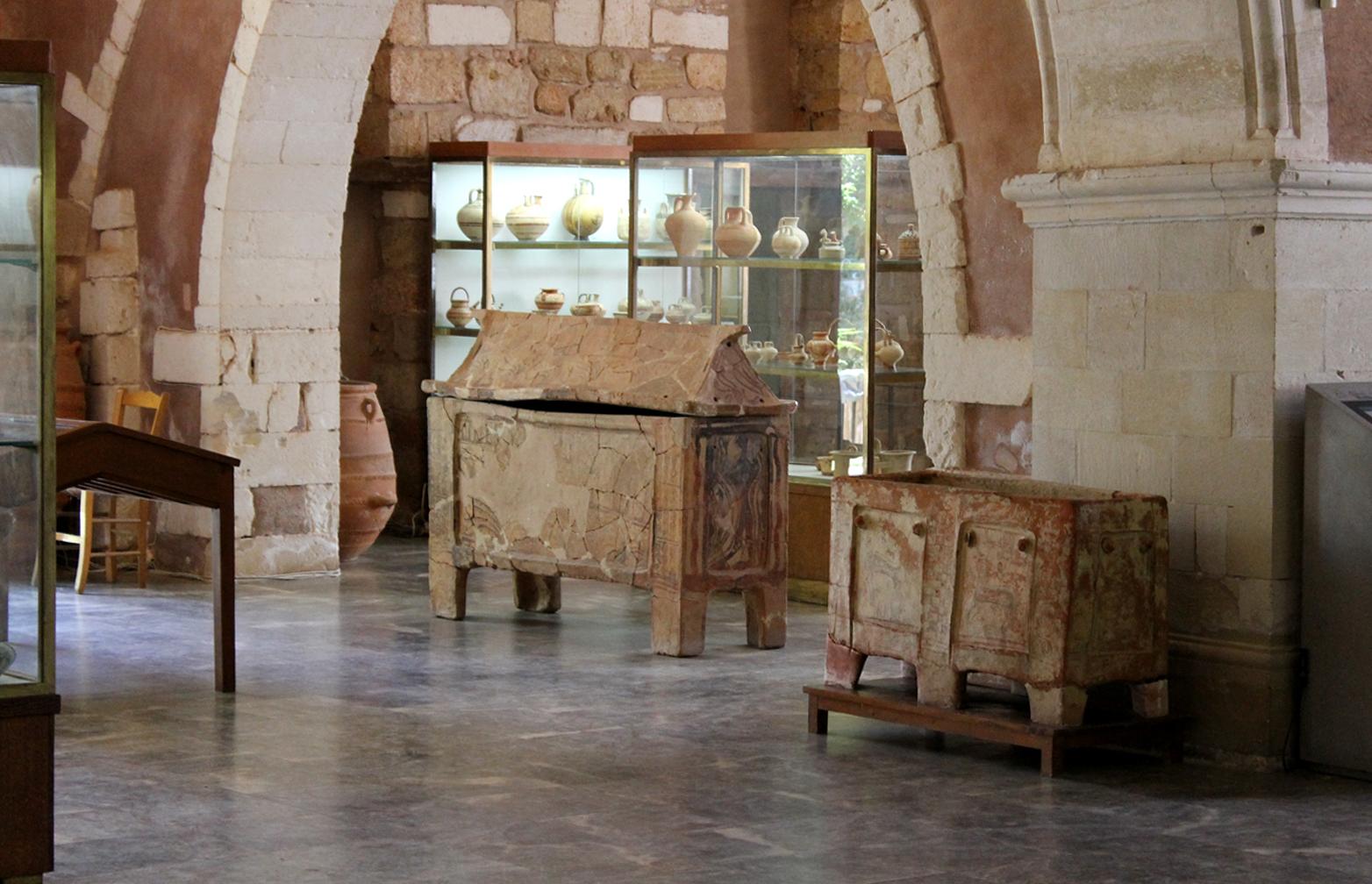 древнегреческий саркофаг
