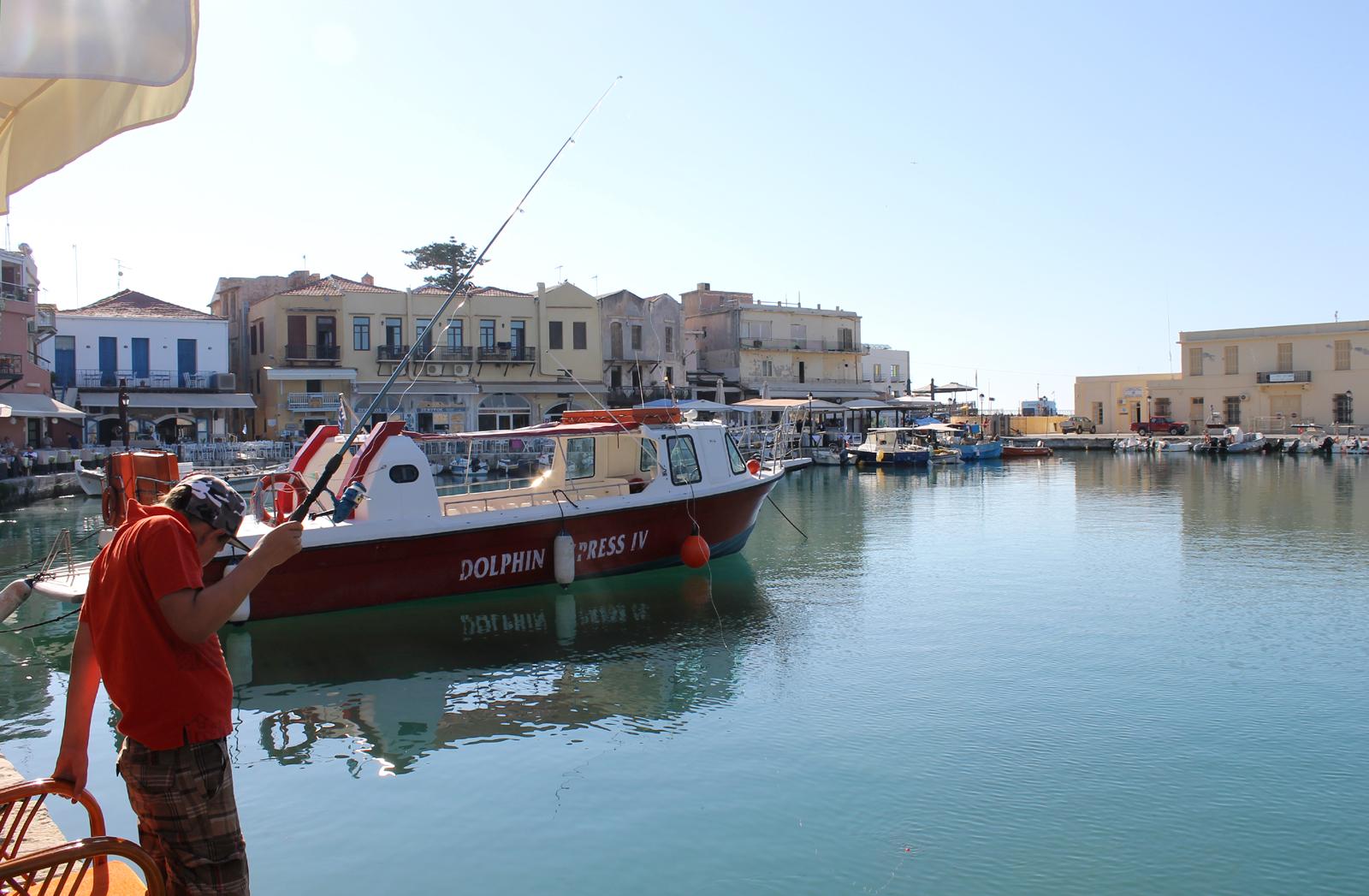 греция рыбак
