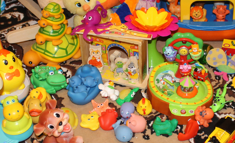 резиновые игрушки для ванны