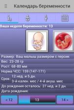 приложение календарь беременности
