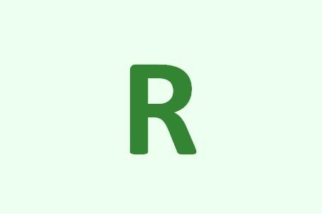 немецкий r