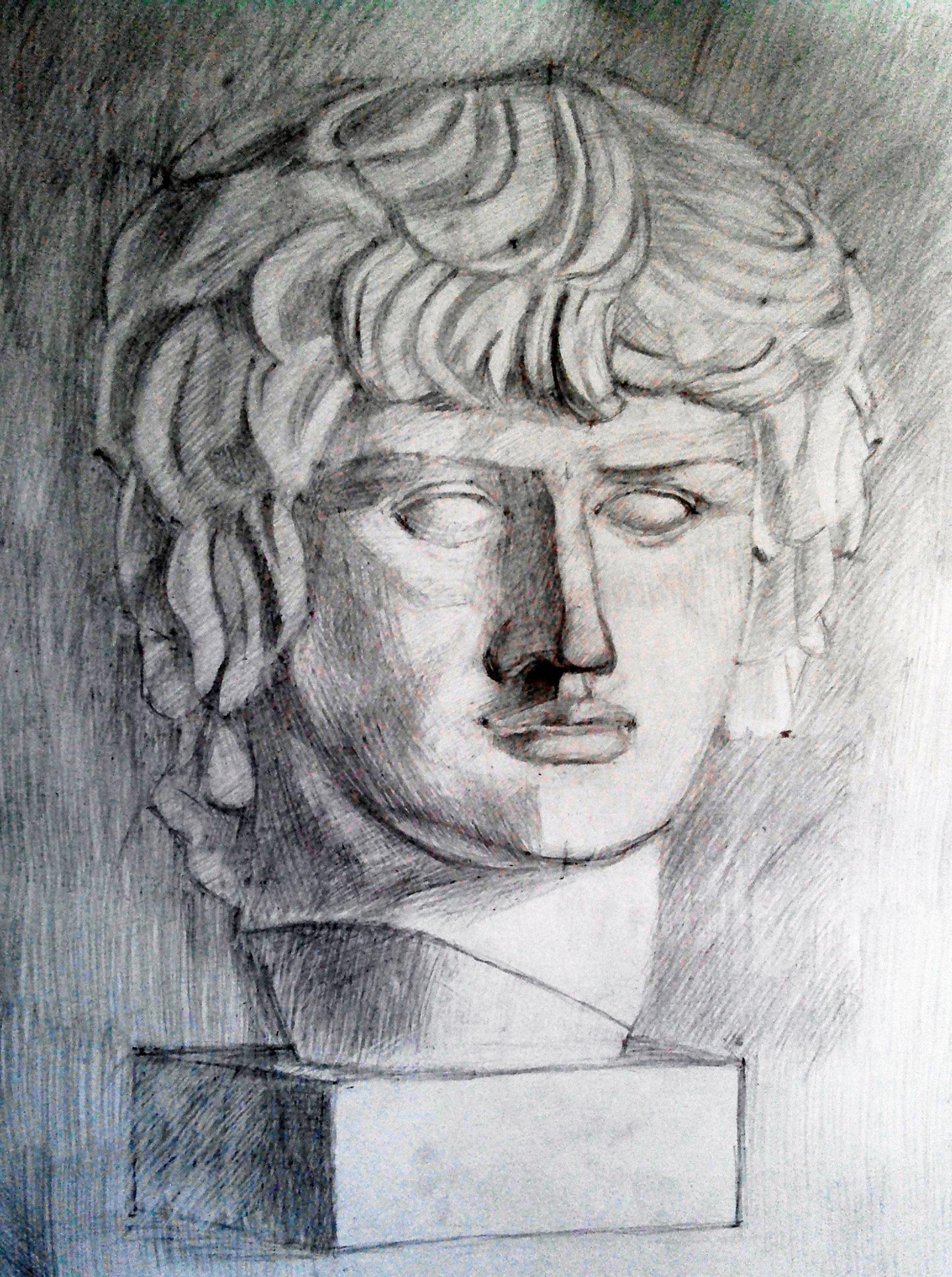 рисунок голова