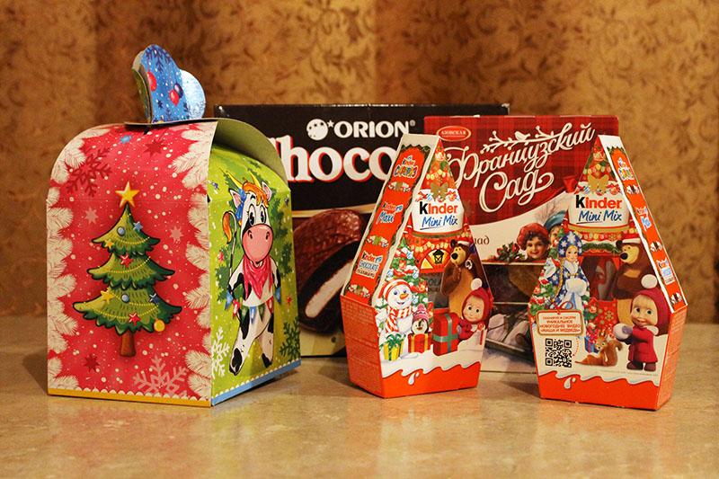 сладкие новогодние подарки