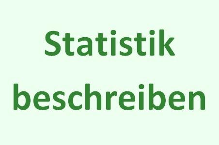 statistik beschreiben
