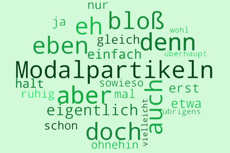 modalpartikeln немецкий