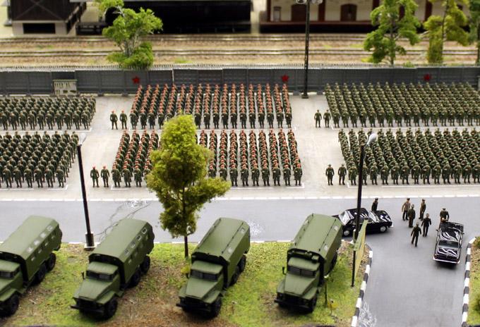 макет армии
