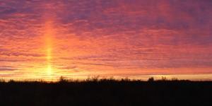 Фотографии красивых закатов