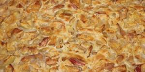 Мой любимый рецепт яблочного пирога