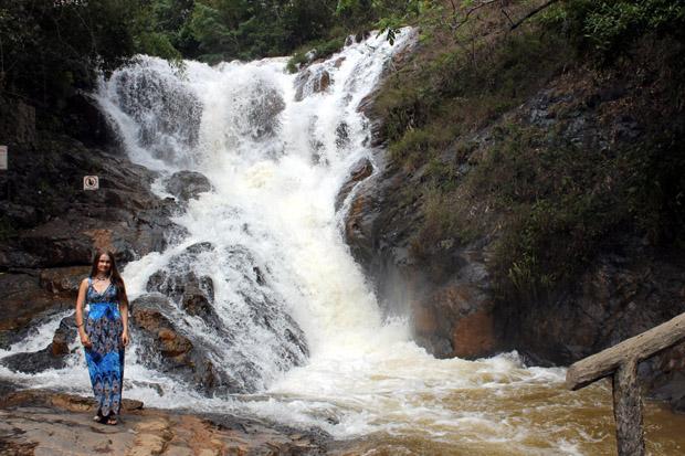 далат прекрасный водопад