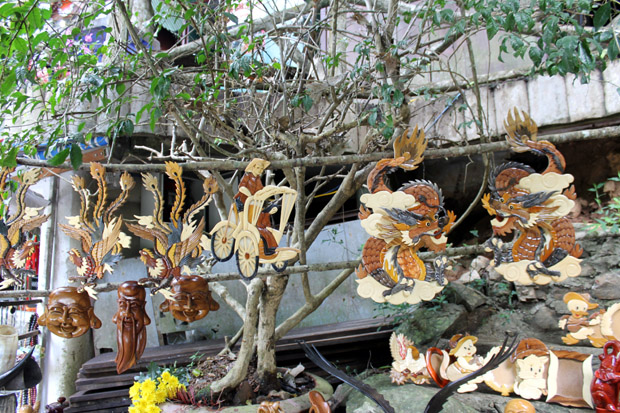 далат сувениры из дерева