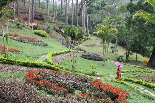 вьетнам далат парк пренн
