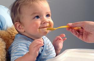 кормление ребёнка в год