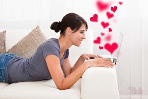 женщина на сайте знакомств