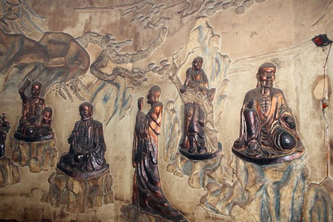 храм в статуе белого Будды