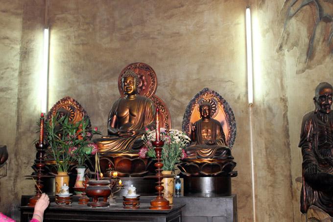 храм в статуе Будды лонг шон