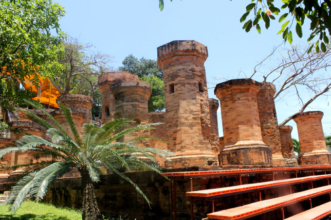 чамские башни вьетнам