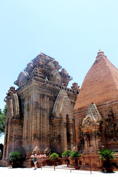 чамские башни нячанг вьетнам