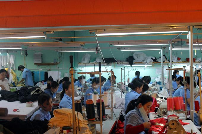 вьетнам швейная фабрика