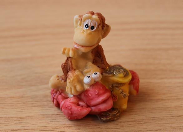 сувенир обезьяна рак