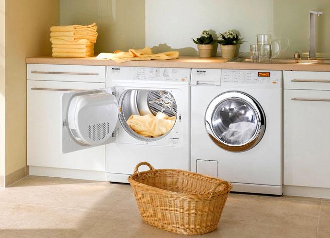 сушильная и стиральная машины